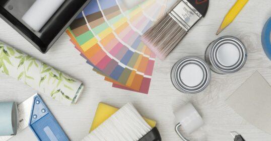 Bignest har professionella målare och tapetserare som vet hur man målar.